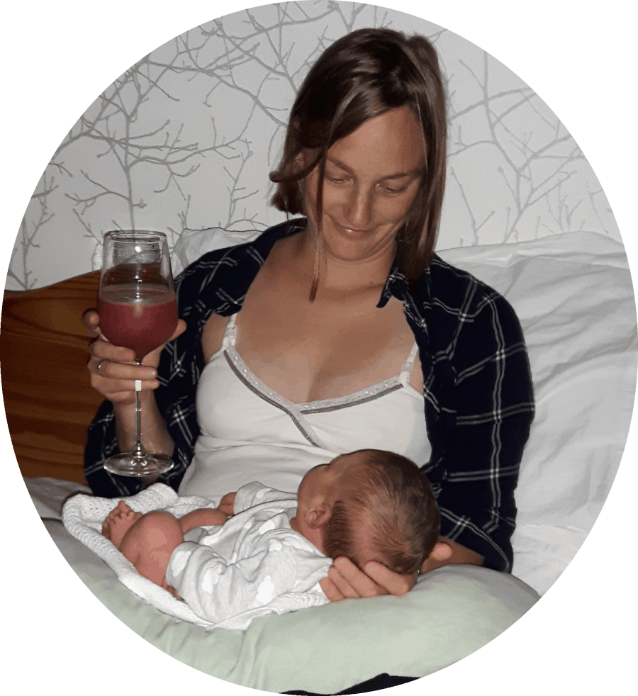 Hannah and her placenta smoothie, Placenta Remedies Network blog