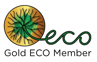 ECO Logo Gold