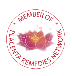 Placenta Remedies Network members' badge in blog post Overflowing breastmilk & Setting up the Network
